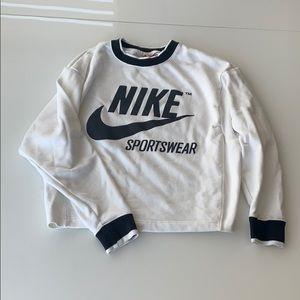 Nike Logo Crewneck Sweatshirt
